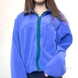 Vintage Ll bean fleece jacket
